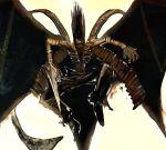 aerial_battle battle bccp character_request fighting_stance kariwa_henya male rurouni_kenshin solo weapon wings