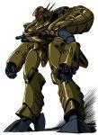 alien macross macross_plus mecha miyatake_kazutaka official_art power_armor production_art solo zentradi