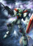 gm_iii gun gundam gundam_zz mecha moon raybar shield signature solo space weapon