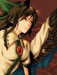 bow hair_bow ichitora red_eyes reiuji_utsuho solo touhou wings