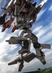 heavy_metal_l-gaim l-gaim l-gaim_mk_ii lowres mecha robographer sky