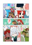 batman_(cosplay) batman_(series) comic cosplay dc_comics flandre_scarlet hong_meiling izayoi_sakuya karaagetarou touhou translated translation_request yuri