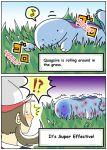2koma comic hard_translated hirune12 kotone_(pokemon) pokemon pokemon_(creature) quagsire translated