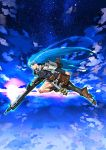 asa_(pixiv56305) asa_(y-asa) boots flying gun machine_gun mg42 original star weapon