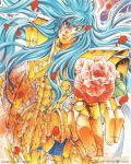 pisces_albafica saint_seiya saint_seiya:_the_lost_canvas teshirogi_shiori