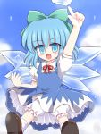 bloomers blue_eyes blue_hair cirno ry touhou