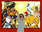 character_request hei_jin king_kazuma koiso_kenji love_machine nosebleed shinohara_natsuki summer_wars sun sweat