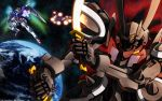 gun mecha mobile_suit_gundam mobile_suit_gundam_00 sword weapon
