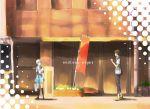 endless_eight height_difference kyon nagato_yuki school_uniform shirase shirase_(azure) short_hair suzumiya_haruhi_no_yuuutsu