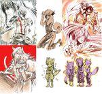 alma_karma bad_id cross_marian d.gray-man for highres howard_link kanda_yuu madarao sketch suga-r sugahara_ryuu tevak