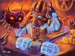 bionicle crossover ekimu hammer lego majora's_mask mask nintendo the_legend_of_zelda watermark