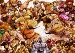 abel absurdres adon ahoge balrog black_hair blanka blonde_hair boxing_gloves braid brown_hair cammy_white chun-li claws cody crimson_viper cuffs dee_jay dhalsim dougi dudley edmond_honda el_fuerte everyone eyepatch fei_long gai_(final_fight) gen_(street_fighter) gloves glowing glowing_eye glowing_eyes gouken gouki grin guile hakan han_juri handcuffs hat headband hibiki_dan highres ibuki kasugano_sakura ken_masters long_hair m_bison mask muscle nd nunchaku open_mouth orange_hair pantyhose punching purple_hair rose_(street_fighter) rufus_(street_fighter) ryuu_(street_fighter) sagat scar seth_(street_fighter) short_hair smile street_fighter street_fighter_iv super_street_fighter_iv thunder_hawk vega weapon white_hair zangief