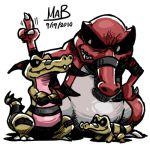 krokorok krookodile lowres no_humans pokemon pokemon_(creature) pokemon_(game) pokemon_black_and_white pokemon_bw sandile stixdude
