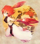 androgynous blue_eyes claws green_eyes highres karakuridouji_ultimo kintsuku male red_hair redhead solo ultimo