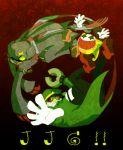 cat_tail claws garlen_(klonoa) janga_(klonoa) joka_(klonoa) kaze_no_klonoa scarf tail
