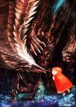 absurdres bear dragon highres monster sakaya313