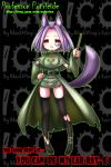 animal_ears dog_ears genderswap monocle nefarian professor_putricide purple_hair short_hair tail thigh-highs thighhighs torn_clothes torn_thighhighs warcraft world_of_warcraft