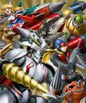 atragon chikyuu_boueigun_(tokusatsu) crossover d4_princess dorasu drill drill_hair goutengou gubira gundam gundam_msv kaijuu kaitei_gunkan_(tokusatsu) kamen_rider kamen_rider_v3_(series) koutetsu_jeeg koutetsu_jeeg_(mecha) magma_riser mecha mobile_suit_gundam moguera riderman ruridou_dorisu shin_getter-2 shin_getter_robo tokusatsu ultra_series ultra_seven_(series) ultraman_(1st_series)
