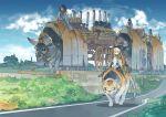 bull fantasy izumi_luna_(akitsu_taira) machine original ox pantyhose riding tiger