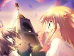 blonde_hair game_cg green_eyes hiiragi_chiyoko kiss_x_demon_lord_x_darjeeling sasorigatame