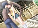 blush game_cg kantoku kiss miyazawa_midori natsu_no_ame