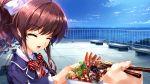 food game_cg hanamiya_nagisa kuroya_shinobu ushinawareta_mirai_wo_motomete