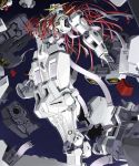 floating gundam gundam_00 mecha nadleeh solo space tomo_(machinemess) virtue