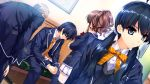 akiyama_sou game_cg hanamiya_nagisa hasekura_airi kuroya_shinobu misaki_kurehito ushinawareta_mirai_wo_motomete