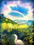blaze_wu cloud clouds copyright_request landscape rainbow sky