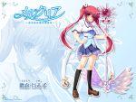 mercuria mitsumomo_mam red_hair redhead seifuku takamori_himiko twintails zoom_layer