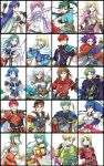 11girls 6+girls 9boys alan alen amelia amelia_(fire_emblem) angry aqua_eyes aqua_hair armor belt black_eyes black_hair blonde_hair blue_eyes blue_hair book bow_(weapon) bracelet braid bridal_gauntlets brown_eyes brown_hair cape chart cleric crossover earrings echidna_(fire_emblem) eirika elbow_gloves ephraim erk farina fingerless_gloves fiora fiora_(fire_emblem) fire_emblem fire_emblem:_blazing_sword fire_emblem:_fuuin_no_tsurugi fire_emblem:_rekka_no_ken fire_emblem:_seima_no_kouseki fire_emblem:_the_sacred_stones fire_emblem_blazing_sword fire_emblem_fuuin_no_tsurugi fire_emblem_sacred_stones fire_emblem_sword_of_seals franz gloves green_eyes green_hair happy headband highres isadora jewelry katana kieran knight lance lipstick long_hair louise louise_(fire_emblem) lucius lyn lyndis_(fire_emblem) mage monk multiple_girls open_mouth pegasus_knight pink_hair polearm ponytail prince princess purple_eyes purple_hair quiver raven_(fire_emblem) ray_(fire_emblem) red_eyes red_hair ross ross_(fire_emblem) rutgar rutger scarf serious serra serra_(fire_emblem) short_hair smile spear sword tana tate twintails vanessa_(fire_emblem) very_long_hair weapon white_hair