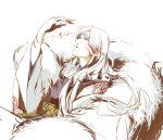 bad_id hands inuyasha looking_up male sesshoumaru solo yonezawa_shari