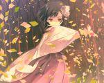 black_hair game_cg japanese_clothes kimono kitto_todoku_sumiwataru_asairo_yori_mo red_eyes short_hair waka yasuyuki