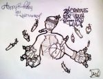 candle ink monkey nba pencil traditional
