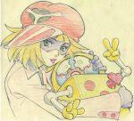 ai-chan gorigo highres kaminari_ai time_bokan_(series) yatterman