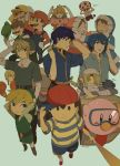 bad_id baseball_bat black_eyes black_hair blonde_hair blue_eyes blue_hair brown_hair child crown diving_mask earrings facial_hair fire_emblem fire_emblem:_monshou_no_nazo fire_emblem:_souen_no_kiseki gloves hat headband helmet hood ice_climber ike jewelry kirby kirby_(series) link long_hair luigi mario mario_(series) metal_gear metal_gear_solid metroid mother_(game) mother_2 mustache nana_(ice_climber) ness pointy_ears ponytail popo_(ice_climber) princess_peach samus_aran sheik smile solid_snake super_mario_bros. super_smash_bros. the_legend_of_zelda tiara toad toad_(mario) toon_link twilight_princess uichi wario wind_waker