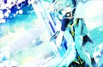 1boy asrhion feathers gloves green_eyes green_hair highres male sync tales_of_(series) tales_of_the_abyss