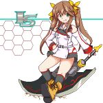 bow fang_lin_yin hair_bow huang_lingyin infinite_stratos lowres pixel_art solo twintails weapon