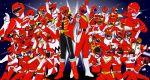 6+boys aba_red aka_ranger aka_red am-atlas bakuryuu_sentai_abaranger battle_fever_j battle_japan bouken_red cape change_dragon chikyuu_sentai_fiveman choudenshi_bioman choujin_sentai_jetman choujuu_sentai_liveman chouriki_sentai_ohranger choushinsei_flashman dai_sentai_goggle-v deka_red dengeki_sentai_changeman denji_sentai_megaranger denshi_sentai_denziman denzi_red dyna_red engine_sentai_go-onger everyone five_red forever_red gao_red geki_red gekisou_sentai_carranger ginga_red go-on_red go_red goggle_red gogo_sentai_boukenger gokai_red gosei_red gosei_sentai_dairanger gun hikari_sentai_maskman himitsu_sentai_goranger hurricane_red hyakujuu_sentai_gaoranger jakq_dengekitai juuken_sentai_gekiranger kagaku_sentai_dynaman kaizoku_sentai_gokaiger kousoku_sentai_turboranger kyouryuu_sentai_zyuranger kyuukyuu_sentai_gogo_five magi_red mahou_sentai_magiranger male mega_red mirai_sentai_timeranger multiple_boys ninja_red ninja_sentai_kakuranger ninpuu_sentai_hurricaneger oh_red power_rangers red red_falcon red_flash red_hawk red_mask red_one red_racer red_turbo ryuu_ranger samurai_sentai_shinkenger scarf seijuu_sentai_gingaman sentai shinken_red spade_ace super_sentai taiyou_sentai_sun_vulcan tensou_sentai_goseiger time_red tokusou_sentai_dekaranger tyranno_ranger vul_eagle weapon