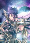 armor black_hair cancer_manigoldo hanei helmet male saint_seiya saint_seiya:_the_lost_canvas sky solo star_(sky) starry_sky