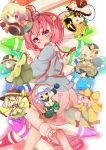 crayon komeiji_koishi komeiji_satori sacha siblings sisters subterranean_animism touhou