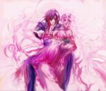 code_geass elbow_gloves euphemia_li_britannia gloves lelouch_lamperouge long_hair pink_hair sword very_long_hair weapon you you_(pisan)