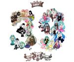 (vocaloid) absurdres ai_kotoba_(vocaloid) apple aqua_eyes aqua_hair bandage bikini black_hair black_rock_shooter black_rock_shooter_(character) blue_eyes book brown_hair butterfly clock_lock_works_(vocaloid) closed_eyes clouds crown detached_sleeves dress eh?_ah_sou_(vocaloid) fish flower formal front-tie_top gear glasses gloves grey_hair guitar hair_down hair_over_one_eye hair_ribbons hajime_no_koi_ga_owaru_(vocaloid) hajimete_no_koi_ga_owaru_toki_(vocaloid) hatsune_miku hatsune_miku_no_shoushitsu_(vocaloid) headphones heart highres jacket kiiro_byoutou_(vocaloid) kocchi_muite_baby_(vocaloid) koi_wa_sensou_(vocaloid) koiiro_byoutou_(vocaloid) long_hair lynne_(vocaloid) matryoshka_(vocaloid) megaphone melt_(vocaloid) midriff mikupa multiple_persona nail_polish navel neckerchief necklace necktie nisoku_hokou:(vocaloid) nisoku_hokou_(vocaloid) nurse paper pillow pleated_skirt plush poppippoo poppippoo_(vocaloid) rainbow red_eyes reitun rolling_girl_(vocaloid) romeo_and_cinderella_(vocaloid) romeo_to_cinderella_(vocaloid) saihate_(vocaloid) scarf serafuku shinkai_shoujo_(vocaloid) shiteyan'yo shiteyan'yo short_shorts skirt snow songover star suit syringe tears thigh_highs tokyo-to_rock_city_(vocaloid) torinoko_city_(vocaloid) tsumi_to_batsu_(vocaloid) twintails umbrella vocaloid voice_(vocaloid) when_the_first_love_ends_(vocaloid) white world's_end_umbrella_(vocaloid) world's_end_umbrella_(vocaloid) world_is_mine_(vocaloid) yellow_(vocaloid) yellow_eyes zebra