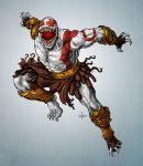 fusion god_of_war kratos marvel tagme venom_(marvel)