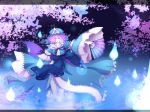 butterfly fan ghost hat japanese_clothes pale_skin pink_eyes pink_hair saigyouji_yuyuko short_hair touhou yume_koucha