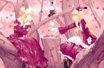 alice_(wonderland) alice_in_wonderland animal blonde_hair queen_of_hearts rabbit twins ueda_ryou white_rabbit