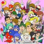 6+boys 6+girls abe_takakazu alice_margatroid angry_german_kid bob_ross capcom earth_defense_force full_metal_jacket gouketsuji_ichizoku hatsune_miku higurashi_no_naku_koro_ni izumi_konata kadokawa kaiba_seto katsura_kotonoha king_of_fighters kirisame_marisa koizumi_itsuki kotohime_(goketsuji_ichizoku) kuso_miso_technique kyoto_animation lowres lucky_star lyrical_nanoha mahou_shoujo_lyrical_nanoha mario mario_(series) marvel nico_nico_douga niconico_rpg nintendo rockman ryou_sakazaki ryuuko_no_ken sakazaki_ryo school_days sgt_hartman snk spider-man super_mario_bros. super_smash_bros. superhero suzumiya_haruhi suzumiya_haruhi_no_yuuutsu takamachi_nanoha taniguchi tomitake_jirou touhou vocaloid yabeno_hikomaro yami_yuugi yu-gi-oh! yuu-gi-ou yuu-gi-ou_duel_monsters zun