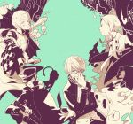 bad_id cat character_request devil_summoner digital_devil_saga glasses goto gouto hat hidaka_fuuro kuma_(persona_4) kuzunoha_raidou megami_tensei narukami_yuu persona persona_2 persona_4 serph seta_souji shin_megami_tensei suou_tatsuya sword varuna_(digital_devil_saga) weapon