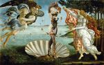 beach birth_of_venus boat derivative_work fine_art_parody guillaume_colomb isabella_valentine parody shell soul_calibur water weapon whip white_hair wind