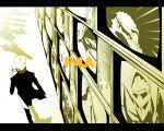 himiko_(persona_4) izanagi jiraiya_(persona_4) kintoki-douji konohana_sakuya letterboxed monochrome narukami_yuu persona persona_4 sukuna_hikona take-mikazuchi television tomoe_(persona_4) wallpaper